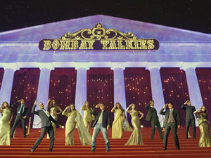A still of 20 Bollywood stars in 'Bombay Talkies' song