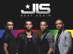 JLS 'Beat Again' single artwork.
