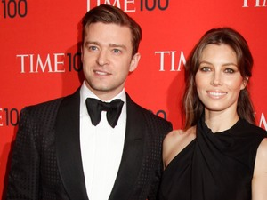 Justin Timberlake, Jessica Biel, Time Magazine&#39;s 100 Most Influential People in the World Gala, 2013