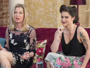 This Morning' TV Programme, London, Katie Hopkins and Katie Waissel, tattoos role models