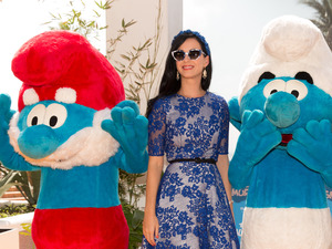 Katy Perry, Smurfs 2, 5th Annual Summer Of Sony at the Ritz Carlton Hotel, Cancun, Mexico
