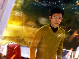 John Cho as Sulu in &#39;Star Trek Into Darkness&#39;