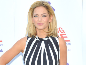Sarah Harding, 'Coming Home' press launch held at the Royal College of Defence Studies