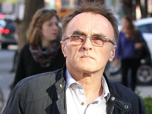 Director Danny Boyle spotted out and about in New York on April 25, 2013