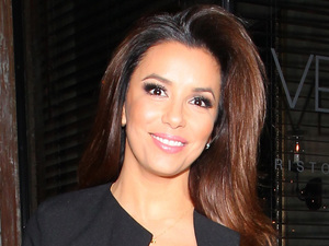 Eva Longoria seen leaving Italian restaurant &#39;Via Veneto&#39; in Santa Monica, Los Angeles, on April 25, 2013 