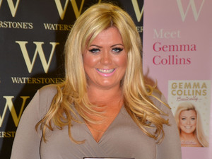 Gemma Collins signs copies of her new book &#39;Basically... My Life as a Real Essex Girl&#39;