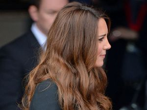 Catherine Duchess of Cambridge at the Warner Bros. Studios launch in Leavesden on April 26, 2013