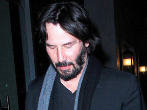 Keanu Reeves leaves Spargo restaurant in Beverly Hills.