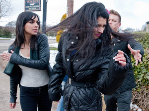 6548: When Alicia tries to intervene, she also gets a slap from Priya