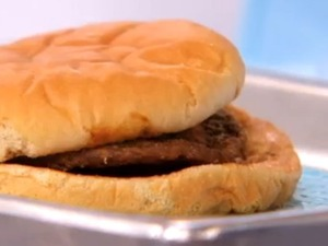 14 year old McDonald's burger from TheDoctors show