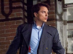 John Barrowman as Captain Jack in Torchwood