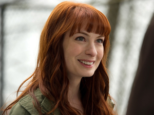 Felicia Day as Charlie in Supernatural S08E20: &#39;Pac-Man Fever&#39;