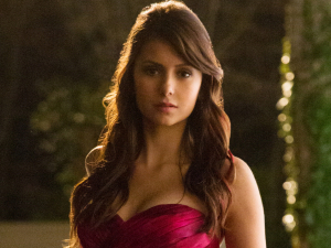 Nina Dobrev as Elena in The Vampire Diaries S04E19: &#39;Pictures of You&#39;