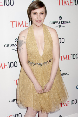 Lena Dunham, TIME Magazine's 100 Most Influential People in the World Gala, New York