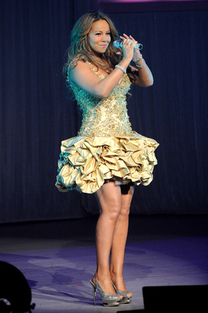 Mariah Carey at the Gibson Amphitheatre ~~ February 23, 2010