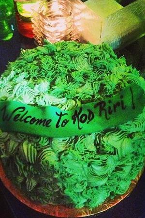 Rihanna's cannabis cake