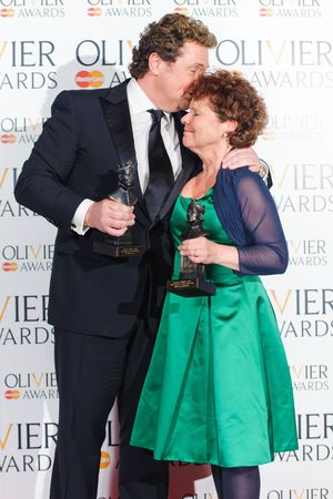 The Olivier Awards 2013: Michael Ball and Imelda Staunton