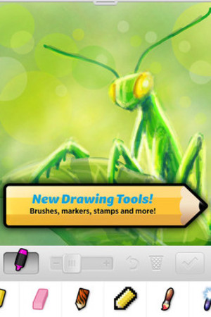 A screenshot of 'Draw Something 2'