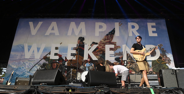Vampire Weekend perform at Big Day Out 2013