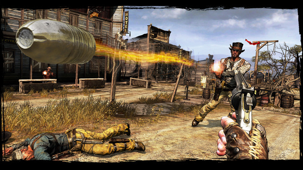 'Call of Juarez: Gunslinger' screenshot