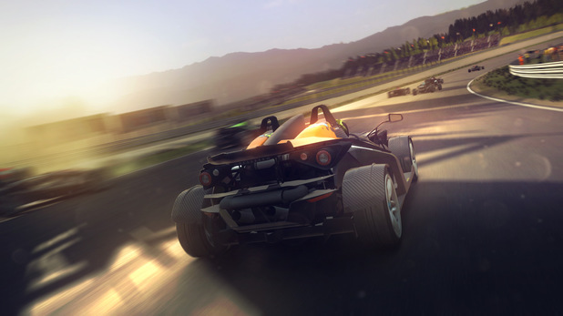 A screenshot of multiplayer on 'GRID 2'