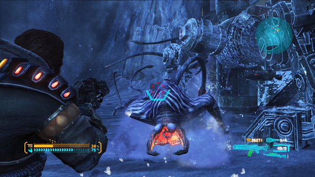Single Player Platform mode in Lost Planet 3, releasing this August.