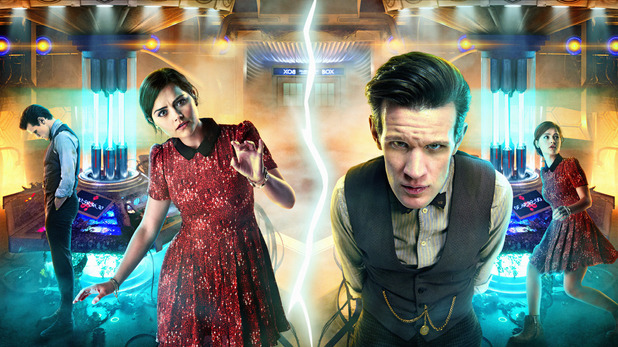 Clara (Jenna-Louise Coleman) & The Doctor (Matt Smith)