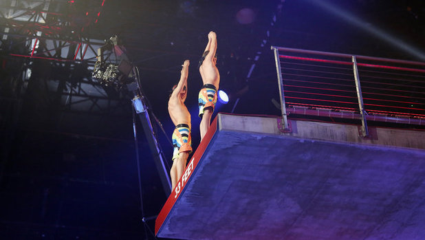 Rory Bushfield and Jake Fielding, Splash, dive, ABC