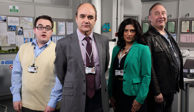 The cast of BBC's 'The Wright Way'