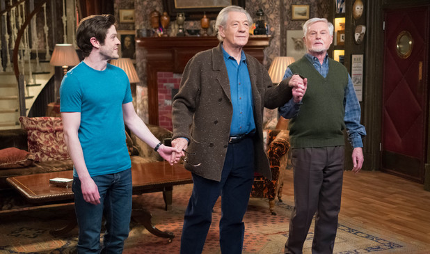 Iwan Rheon as Ash in ITV's Vicious