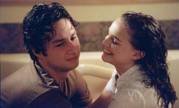 Zach Braff & Natalie Portman in 'Garden State' (2004)