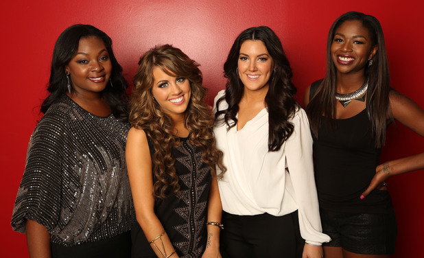 'American Idol' season 12 top 4: Candice, Angie, Kree and Amber