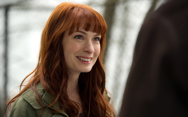 Felicia Day as Charlie in Supernatural S08E20: 'Pac-Man Fever'