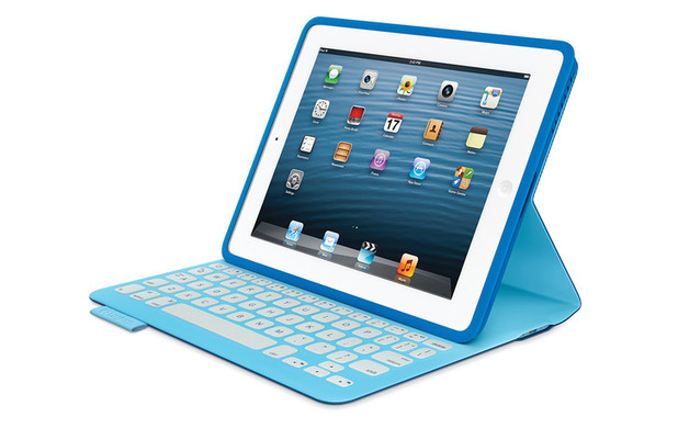 apple ipad gets fabricskin keyboard cover from logitech tech news digital spy. Black Bedroom Furniture Sets. Home Design Ideas
