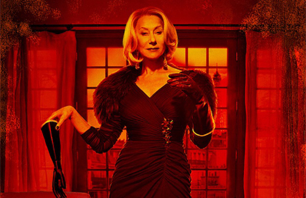 Dame Helen Mirren as Victoria in 'RED 2' character poster.