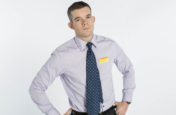 Russell Tovey as Karl in ITV's 'The Job Lot'