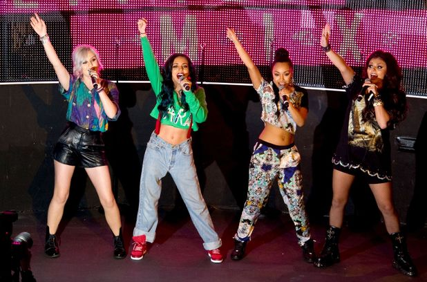 Little Mix, concert at the VIP Room in Paris