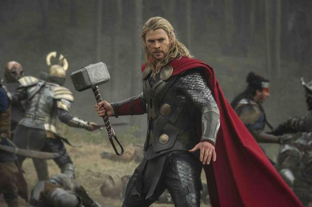 A preview still from 'Thor: The Dark World'