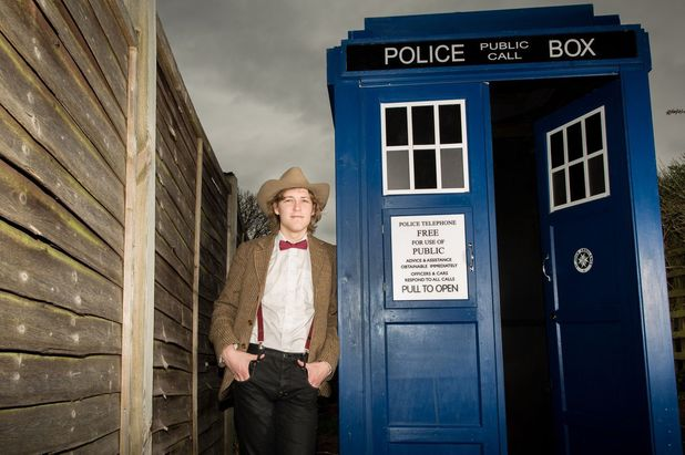 'Doctor Who' mock Tardis