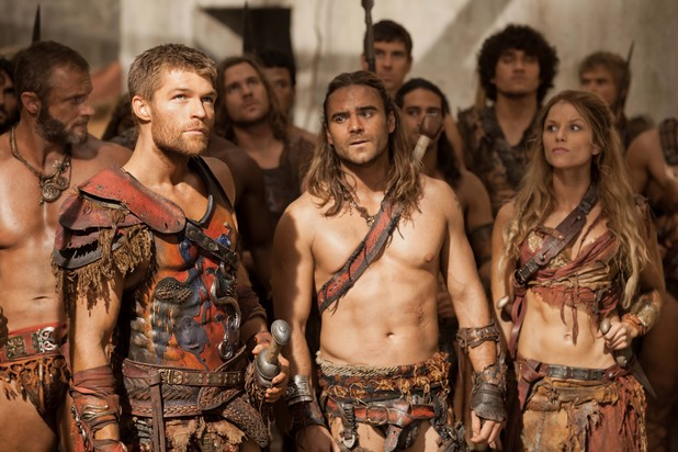 Liam McIntyre in 'Spartacus: War of the Damned'