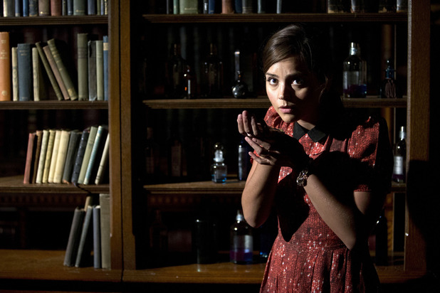 Clara (Jenna-Louise Coleman) in Doctor Who S07E05: 'Journey to the Centre of the TARDIS'
