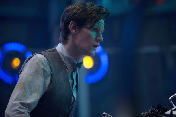 The Doctor (Matt Smith) in Doctor Who S07E05: 'Journey to the Centre of the TARDIS'