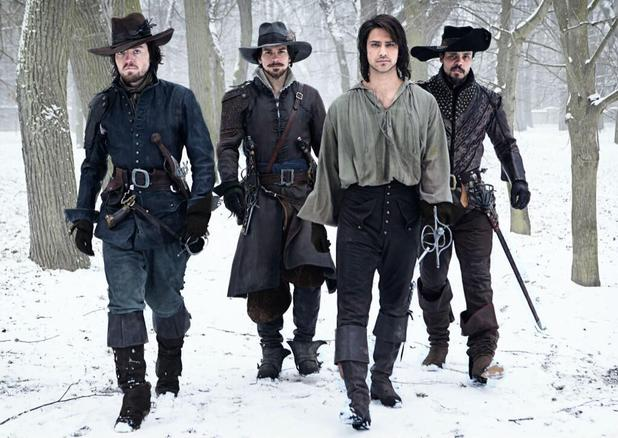 The cast of BBC One&#39;s <em>The Musketeers</em>