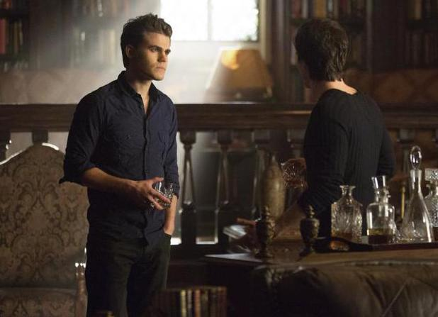 The Vampire Diaries - 'The Originals' (S04E20): Wesley as Stefan and Ian Somerhalder as Damon