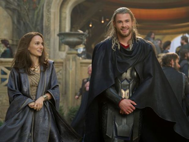 Chris Hemsworth and Natalie Portman in new Thor: The Dark World image