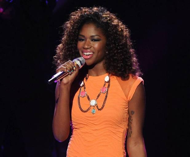 'American Idol' Top 4 performances: Amber Holcomb