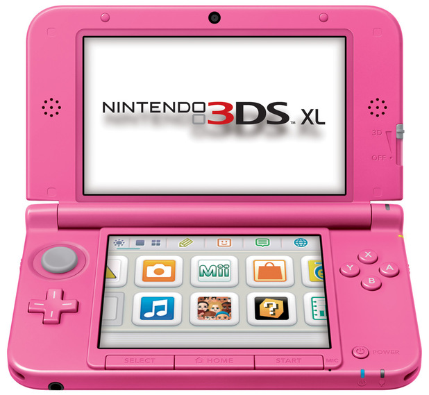 Nintendo 3DS XL picture gallery