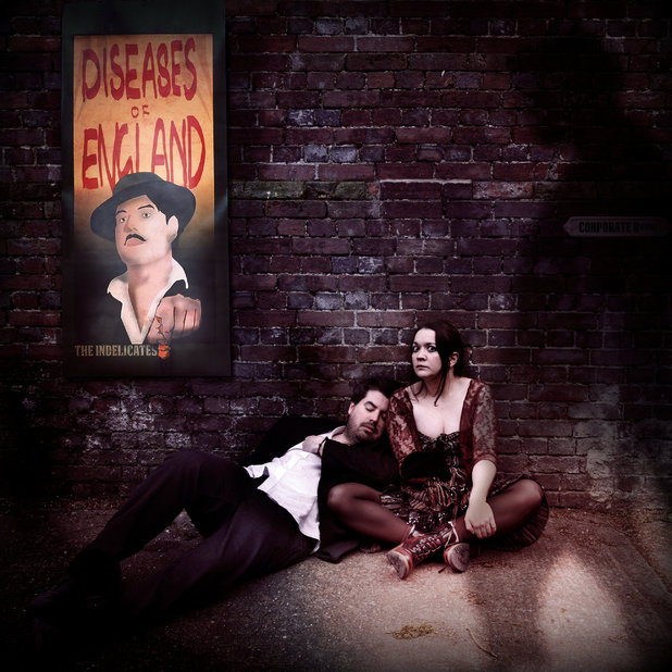 The Indelicates - Diseases of England - album cover