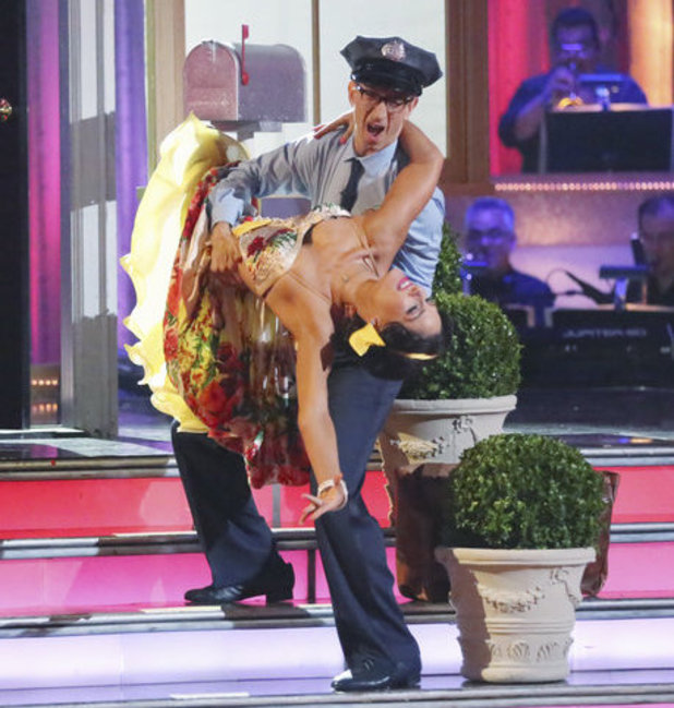Dancing with the Stars - week 6: Andy Dick & Sharna Burgess