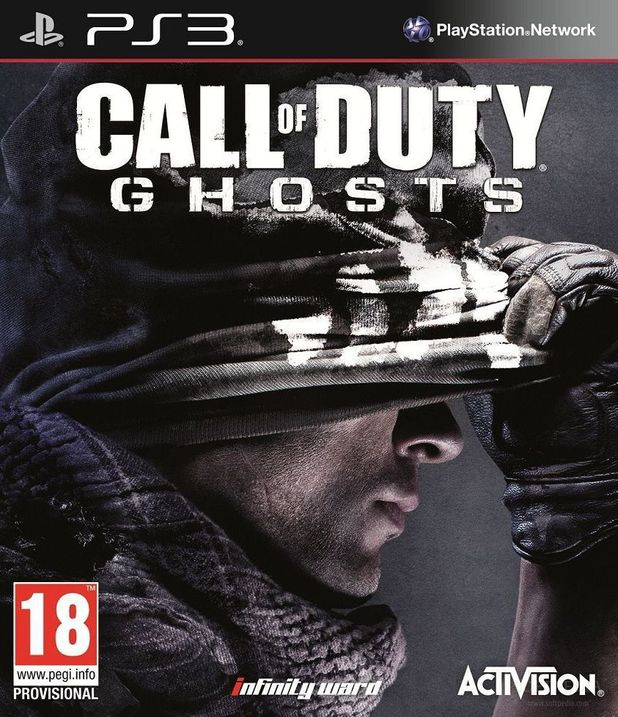 'Call of Duty: Ghosts' box art leaked by Tesco?